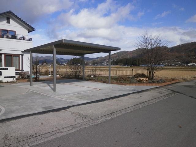 リクシルカーポート池田町