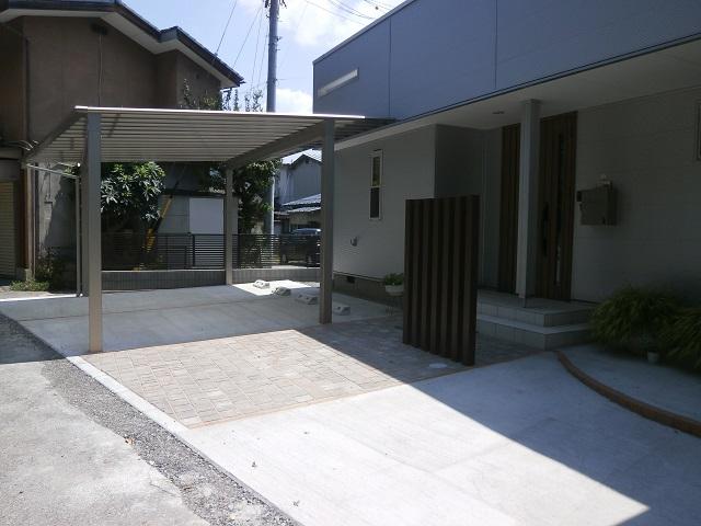 駐車場コンクリート松本市3