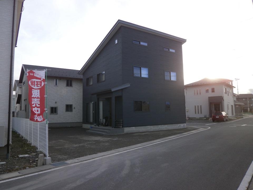 庭砕石敷松本市