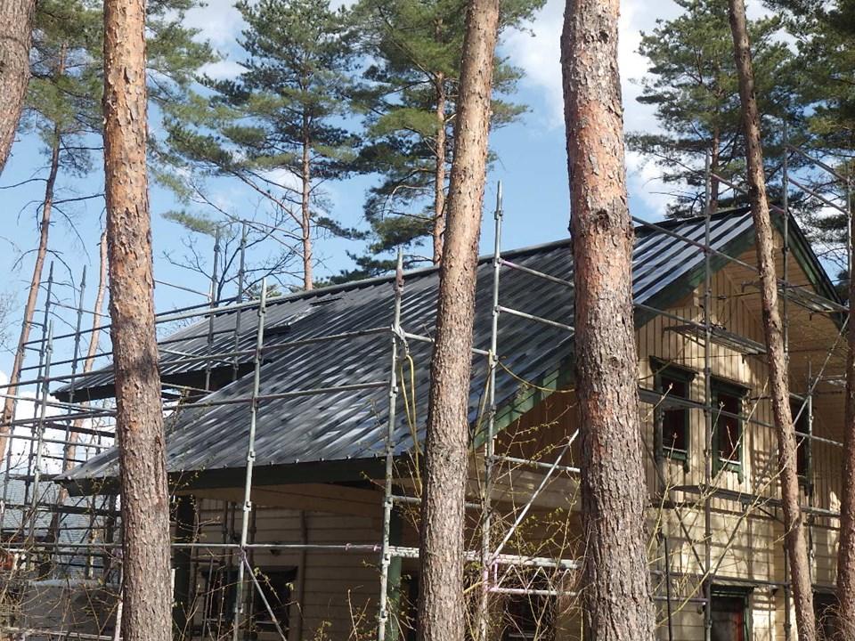 屋根塗装安曇野市