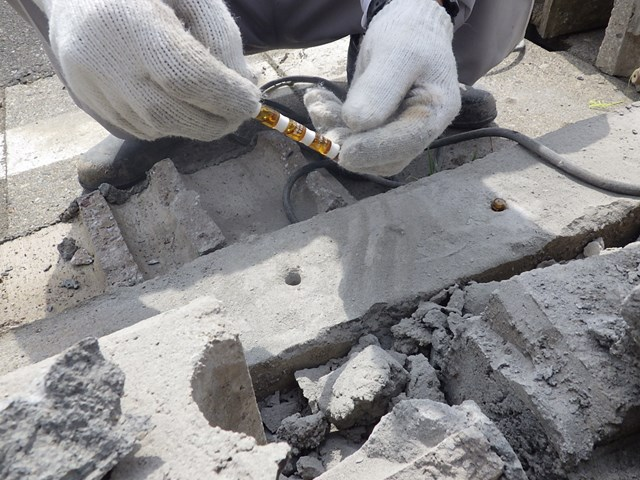 s-破損したブロック塀修理 (6)