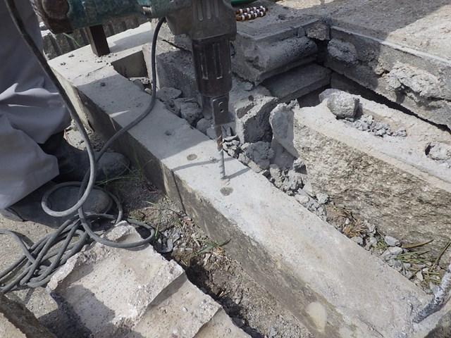 s-破損したブロック塀修理 (3)
