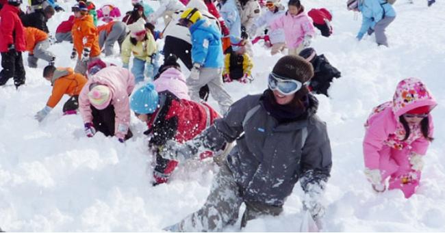 木島平スキー場【子ども宝さがし大会】