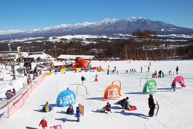 こどもが遊べる!長野県スキー場の家族で楽しむイベント盛り沢山!