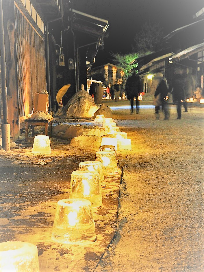 奈良井宿アイスキャンドル祭りバスツアー