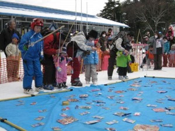 駒ヶ根高原スキー場【KIDSおもちゃ釣り大会】