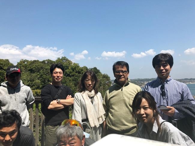 江の島社員旅行