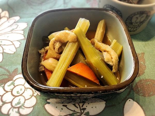 山うどのレシピ【うどの煮物】