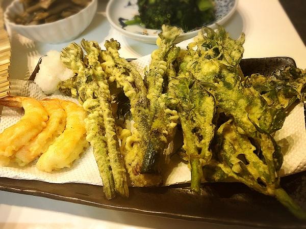 山うどのレシピ【天ぷら】