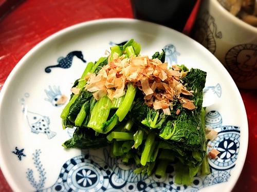 ウドブキの美味しいレシピ【お浸し】