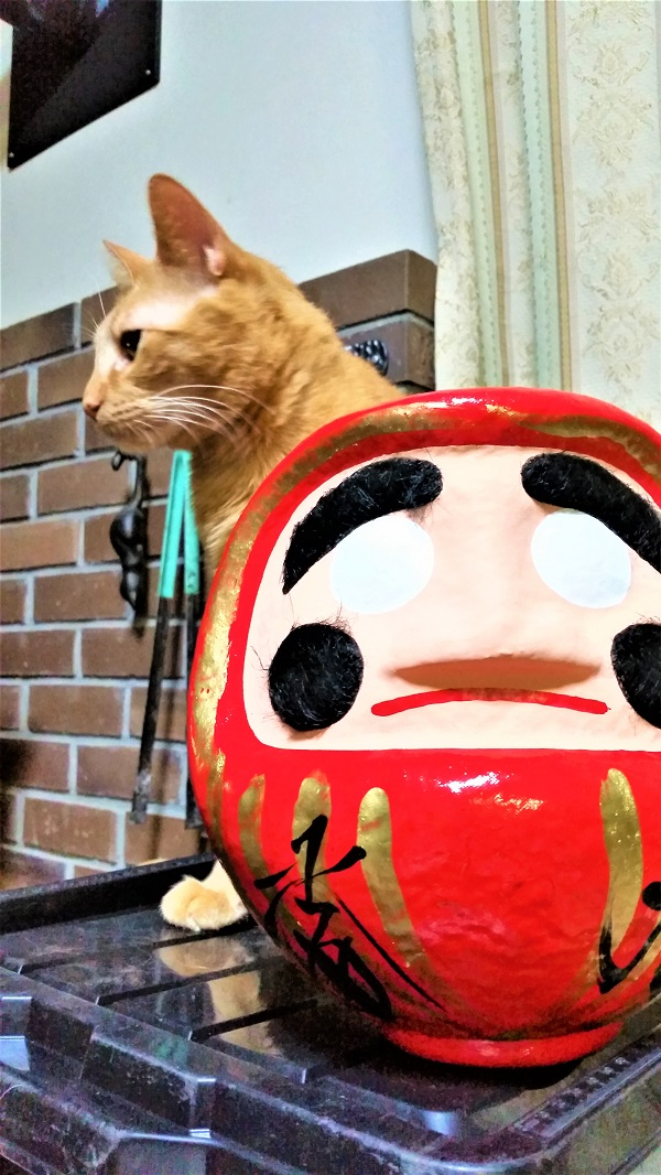 四柱神社の松本だるま