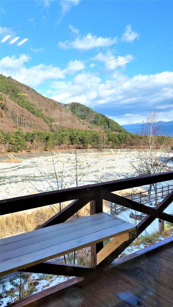 中央アルプス基礎駒ケ岳を水源とした太田切川