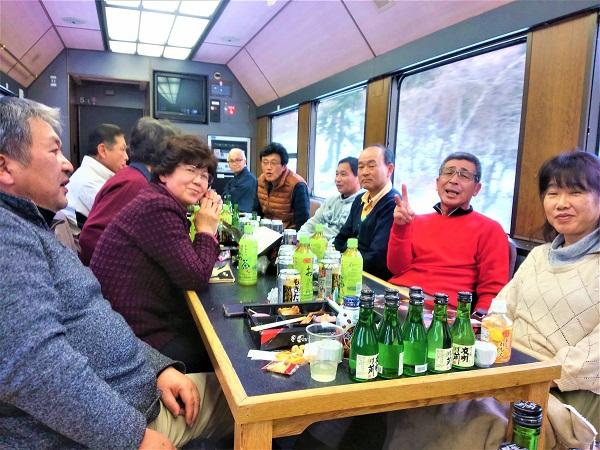 平成31年初の列車の旅