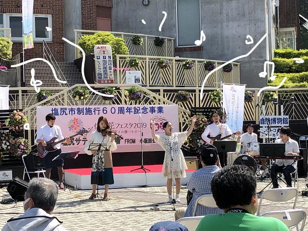 ガクガク(;´艸`)信州花フェスタ2019~小坂田公園道の駅まつり~