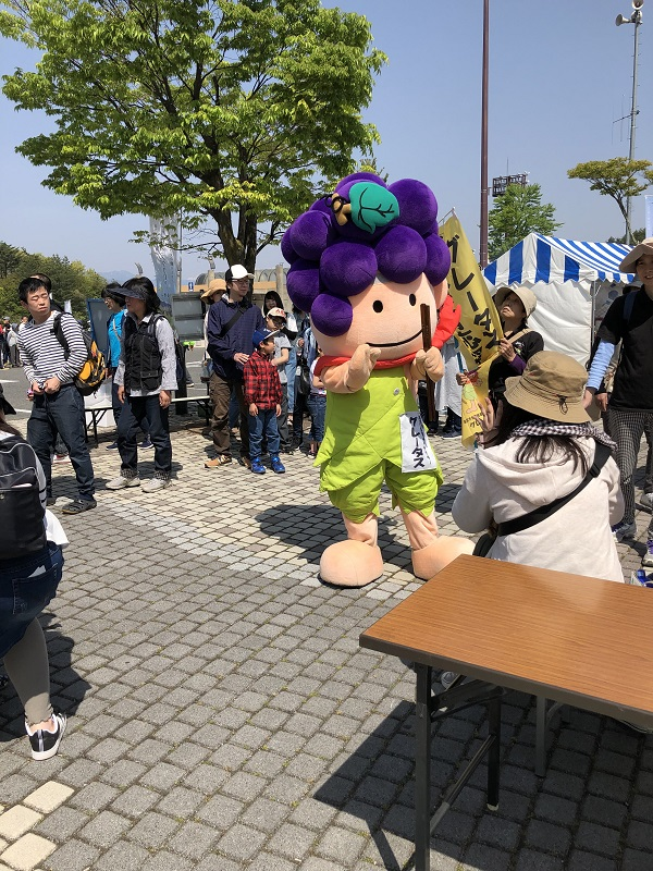 塩尻市食育推進キャラクター グレータス