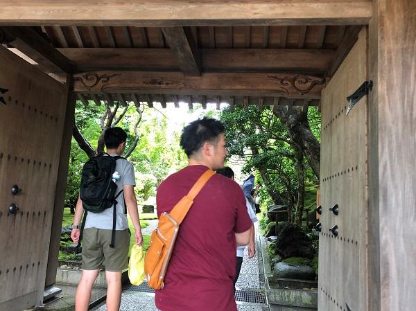 鎌倉 報国寺で竹林散策後の抹茶が最高!紫陽花6月の梅雨の時期