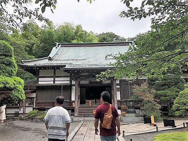 鎌倉 報国寺で竹林散策後の抹茶が最高!紫陽花6月の梅雨の時期の本堂