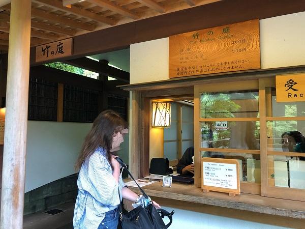 鎌倉 報国寺で竹林散策後の抹茶が最高!紫陽花6月の梅雨の時期の竹の庭受付