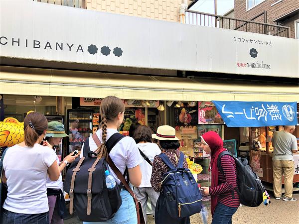 鎌倉『小町通り』で食べ歩き!絶対食べるべし!おすすめグルメクロワッサンたい焼き