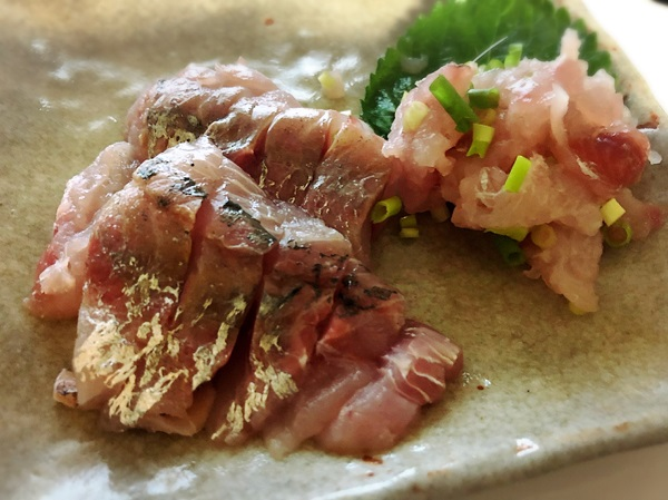 釣った魚の美味しいレシピ「刺身」