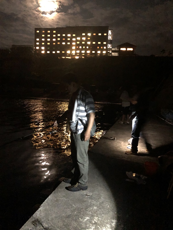 ホテル大佐渡夜釣り
