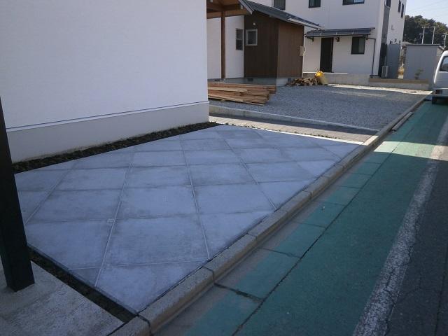 駐車場コンクリート松本市