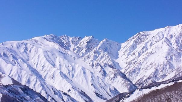 長野県では初めて!大町市鹿島槍に氷河が発見される!