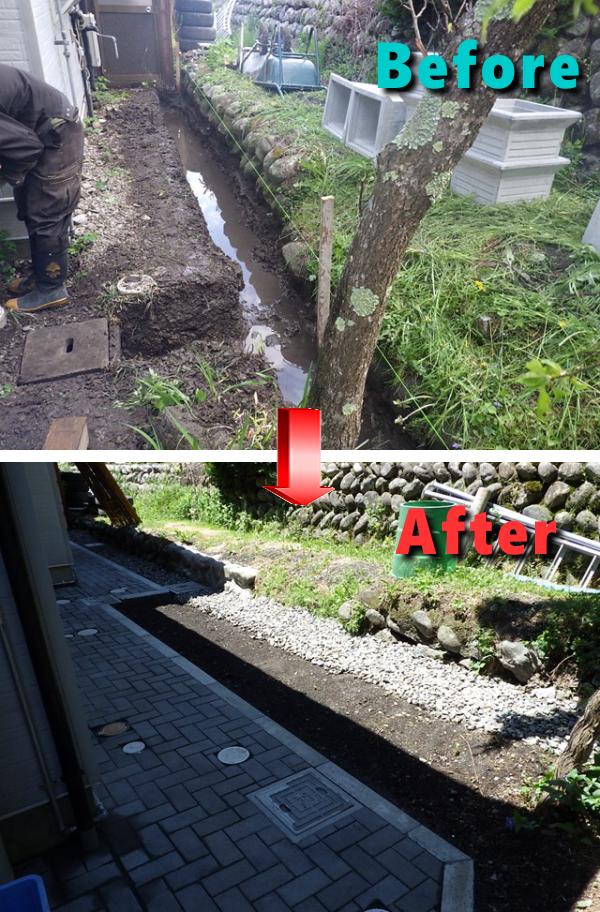 水たまりができる庭=最悪の庭という事実!芝生や土の水はけ改善方法