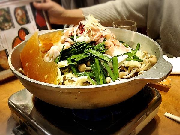 韓国料理『美蘭』の和風もつ鍋