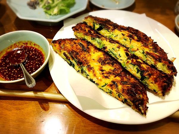 韓国料理『美蘭』のちぢみ