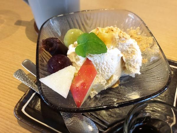 デザート「白玉和風パルフェ」
