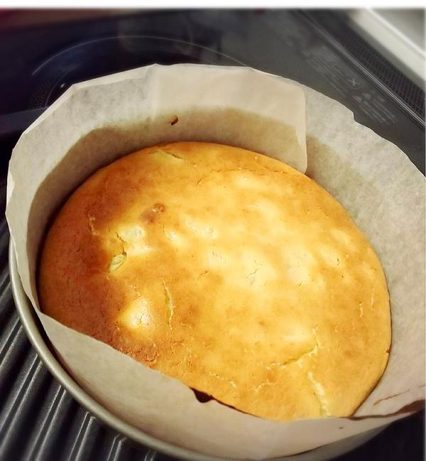 激旨♡さつま芋とりんごのチーズケーキ(18cm丸型使用)