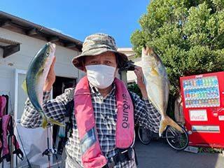 やっと釣りに行ってきました~相模湾平塚港発の釣り船『庄治郎丸』にて~